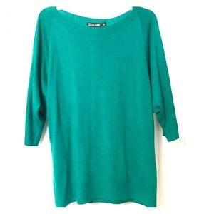 3/4 dolman sleeve sweater